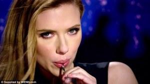 Scarlett Johansson Ad