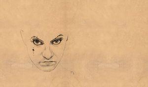 Amanda Palmer Drawing
