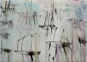 "Cy Twombly, ""Lepanto V,"" 2001. Image credit: http://isola-di-rifiuti.blogspot.co.uk/2014_11_01_archive.html"